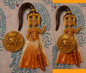 Greek Goddess Series: 6 -Athena by Twilight13Fan