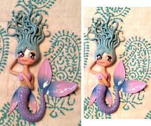 Blue Mermaid by Twilight13Fan