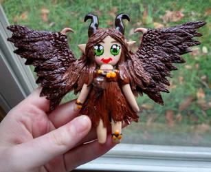 Child Maleficent Chibi by Twilight13Fan