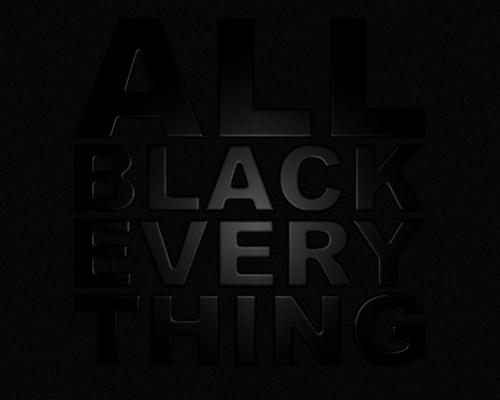 all black everything by emcee89 on deviantart. Black Bedroom Furniture Sets. Home Design Ideas