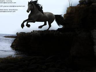 Among The Deep Water Stallion