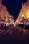 Prague at night by Ihave-no-imagination