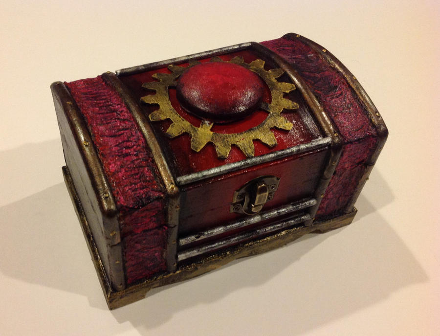 Steampunk mini box by eldon14