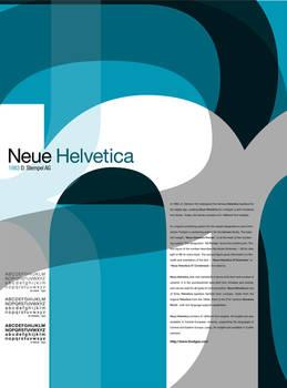 Type Study - Neue Helvetica