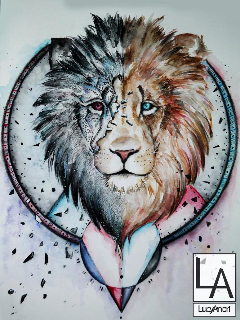 lion by LucyAnori