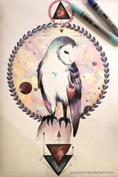 Owl by LucyAnori