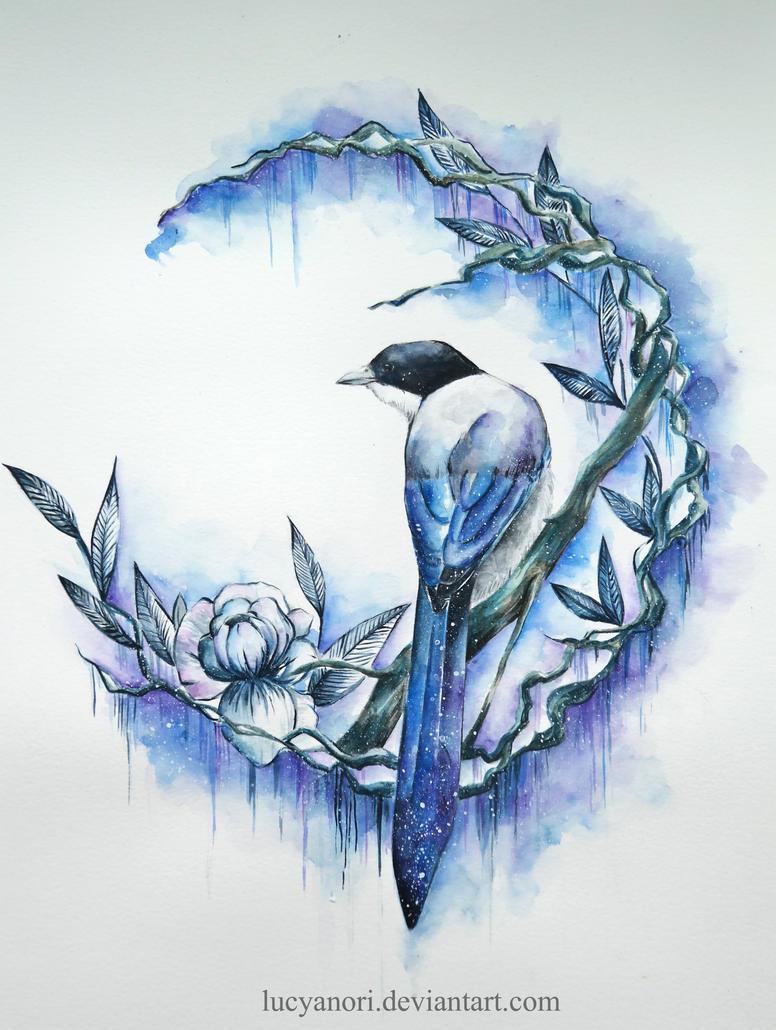 Blue Bird by LucyAnori