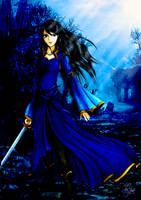 Elnesia (My OC) by InWind