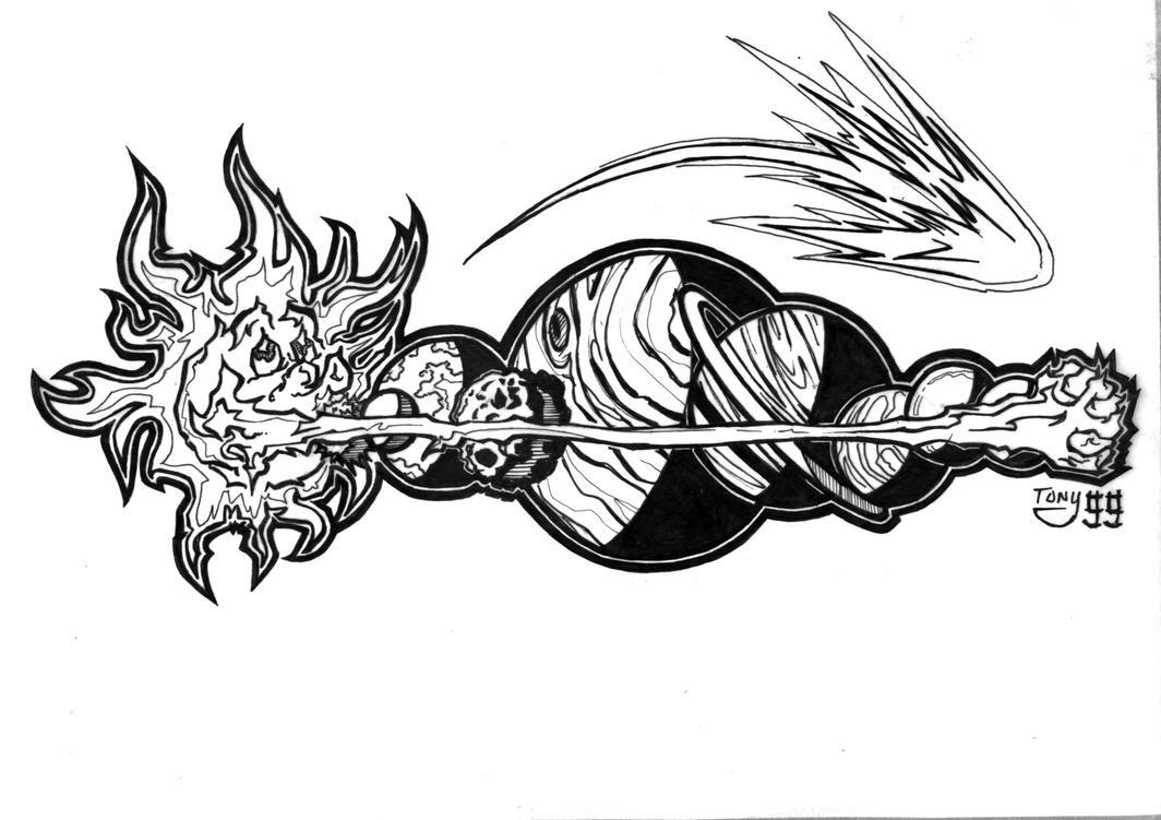 planets deviantart tattoo - photo #39