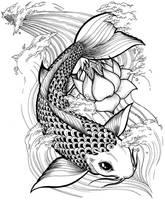FISH KOI by Jan-ilu