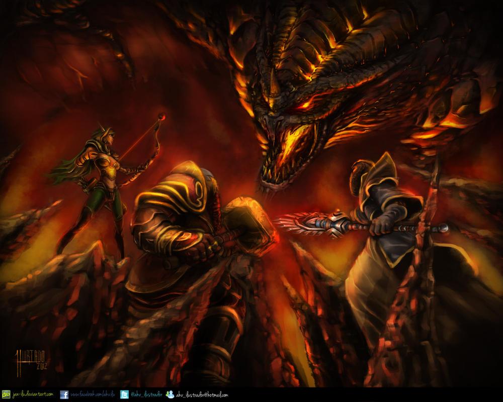 The Showdown by Jan-ilu