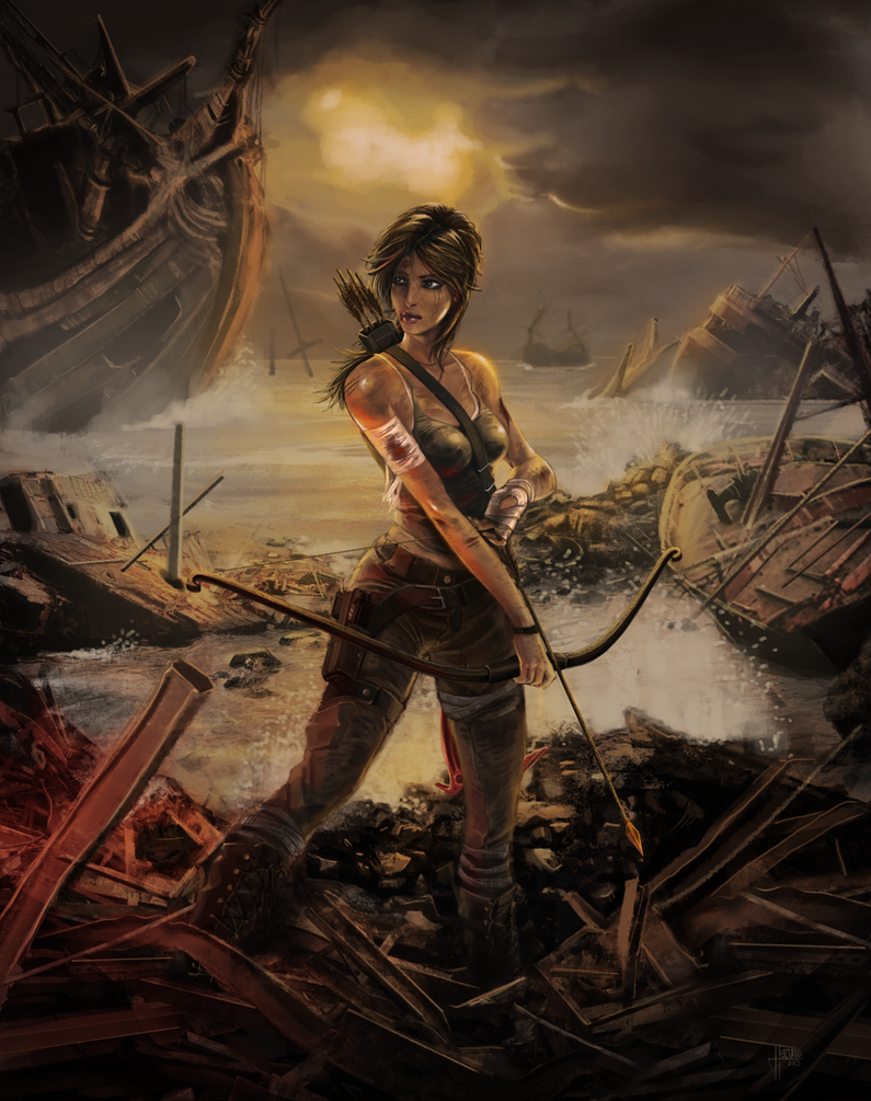 Tomb Raider reborn Contest by Jan-ilu
