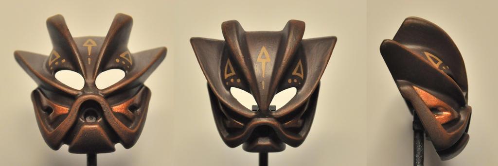Brown Tribal Kakama Nuva by ModaltMasks