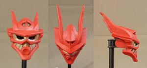 Red Dragoon's Kaukau 15 by ModaltMasks