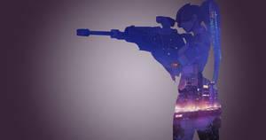 Widowmaker - Overwatch (Double exposure)