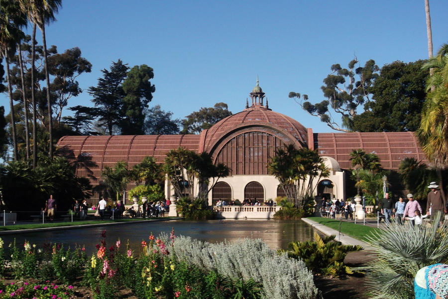 Botanical Garden Balboa Park By Flyinglion76 On Deviantart
