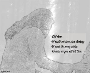 Making Choices - Story Art Arwen's Choice by RhapsodyBrd