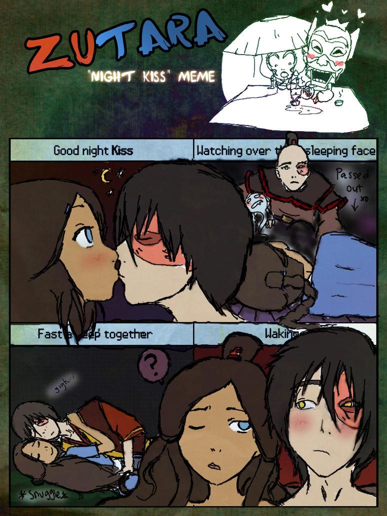 [Zutara] Night Kiss Meme by ZutaraLives
