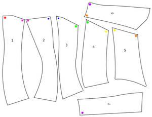 Neck Corset Pattern