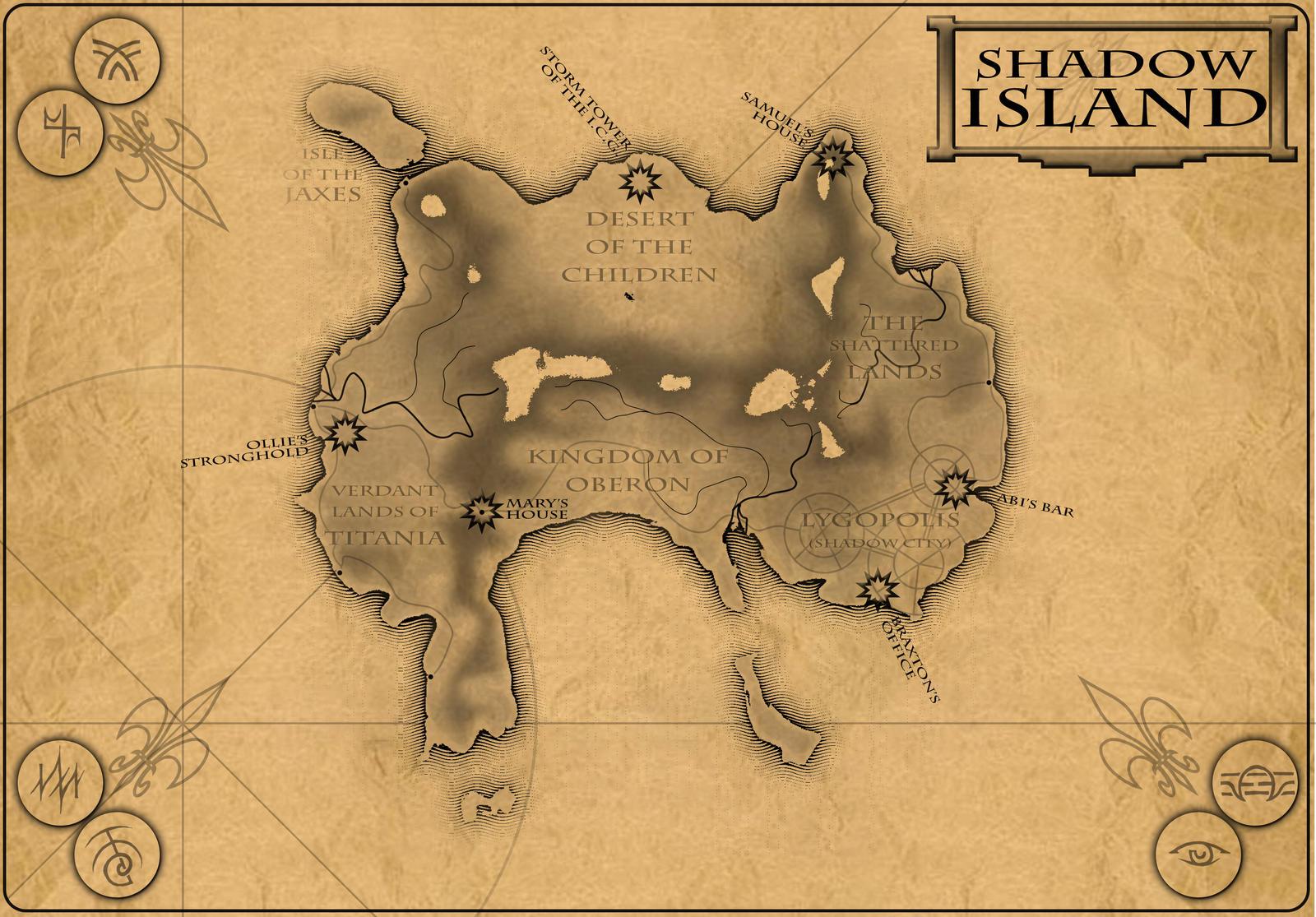 Shadow Island by vulpinoid