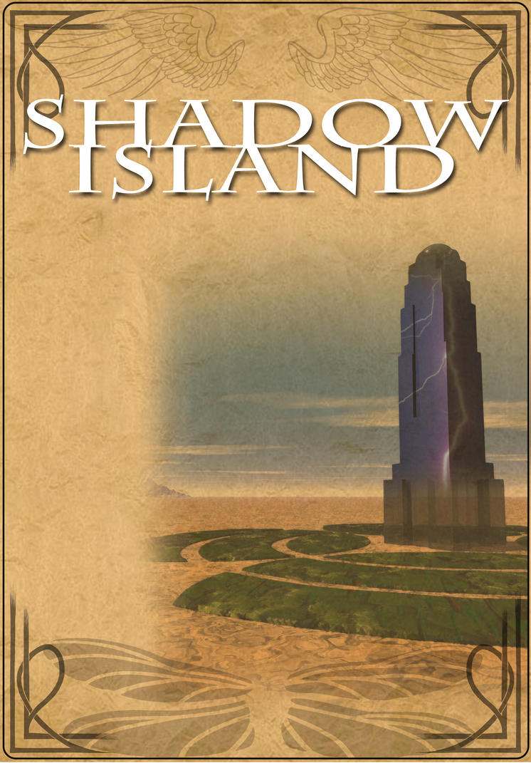 Shadow Island Page by vulpinoid