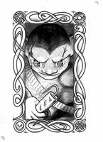 Goblin Tarot - Minor Rank 13 by vulpinoid