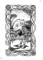 Goblin Tarot - Minor Rank 16 by vulpinoid