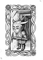 Goblin Tarot - Minor Rank 20 by vulpinoid