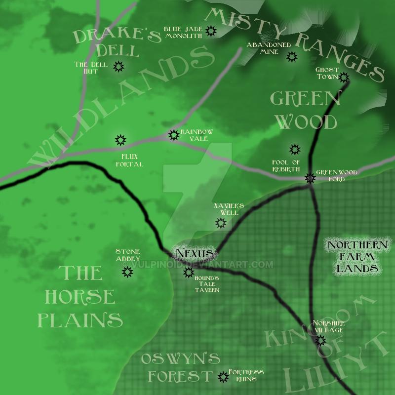 Nexus Map by vulpinoid