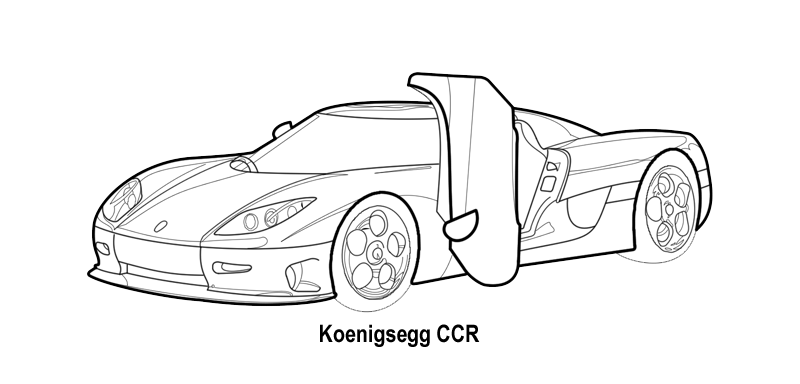 Ferrari Laferrari Coloring Page together with Luxury Cars Coloring Pages Sketch Templates in addition Muscle Car Drawing also Logo in addition Logo Shelby. on koenigsegg coloring pages