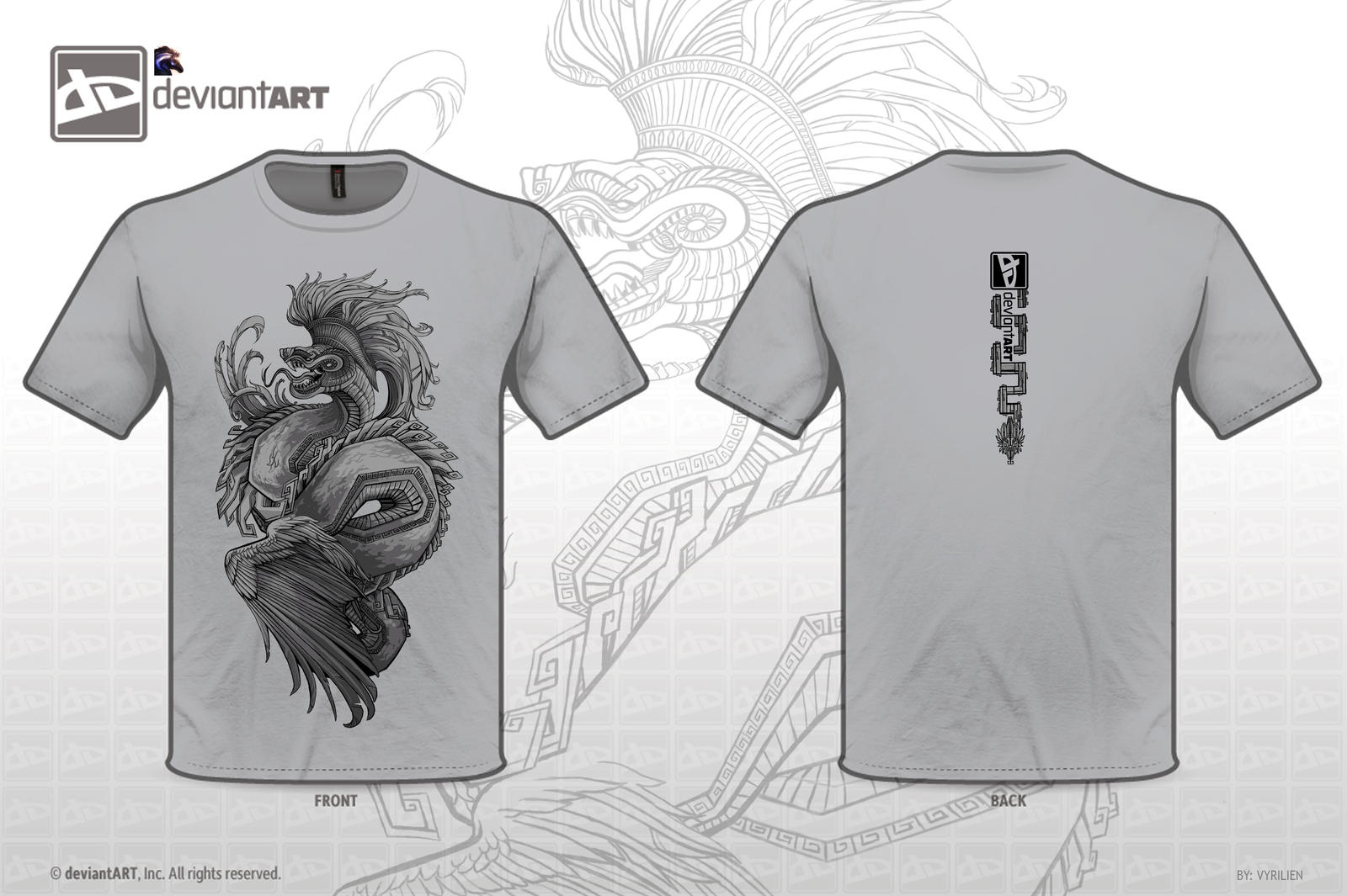 Mythical Creatures Contest - Quetzalcoatl by Vyrilien