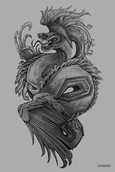 Quetzalcoatl Design by Vyrilien