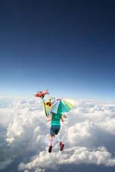 Beautiful cloud by oNezzzART