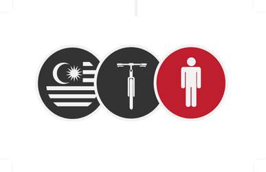 Mountain Bike Club Logo by oNezzzART