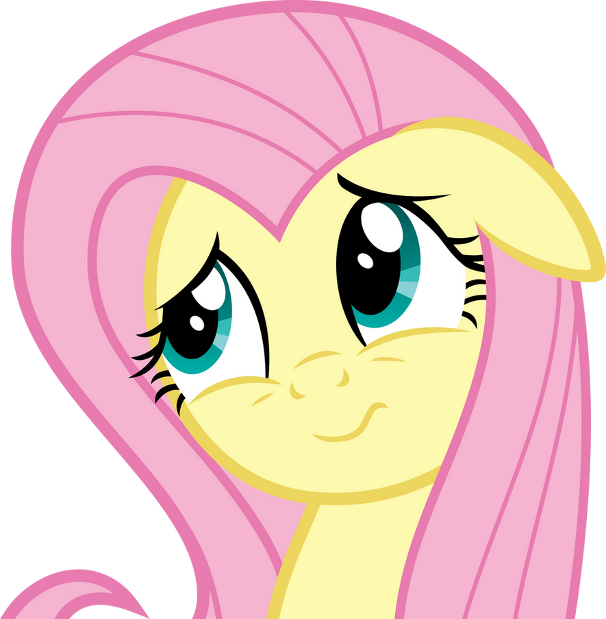 Fluttershy's Adorable Confused Face by DMKruiz