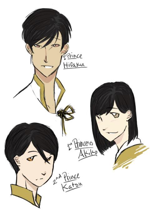 Royal Siblings by twilightearth