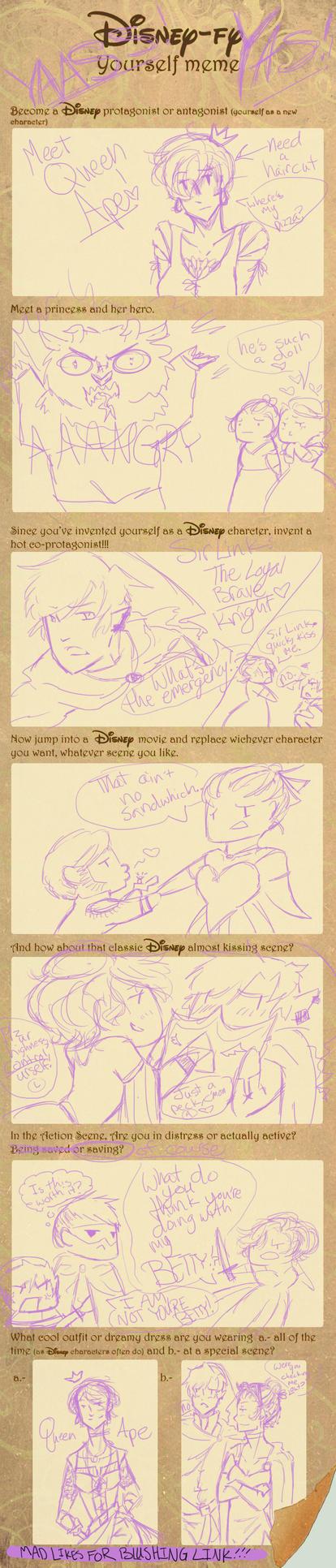 Disney-fy Yourself Meme by twilightearth