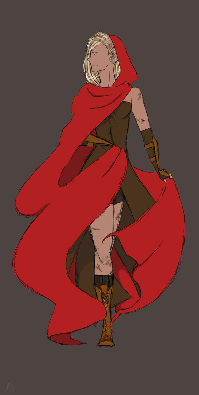 Red Riding Hood by twilightearth