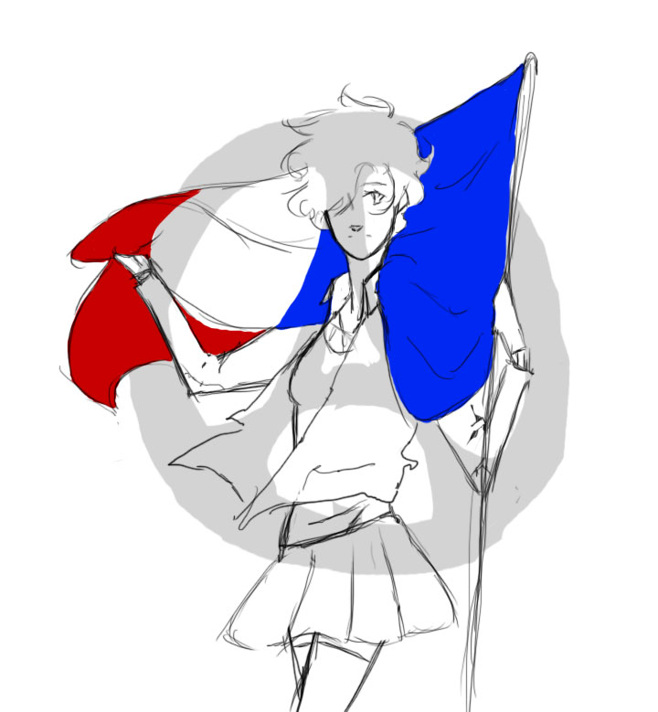 Pray For Paris by twilightearth