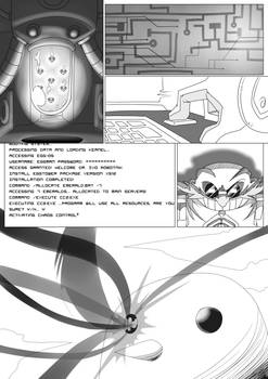 Hedgehogged Chapter 1 Arc 1 Page 1