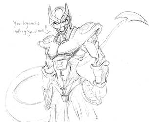 Sketch Legendary Fridge by RageVX