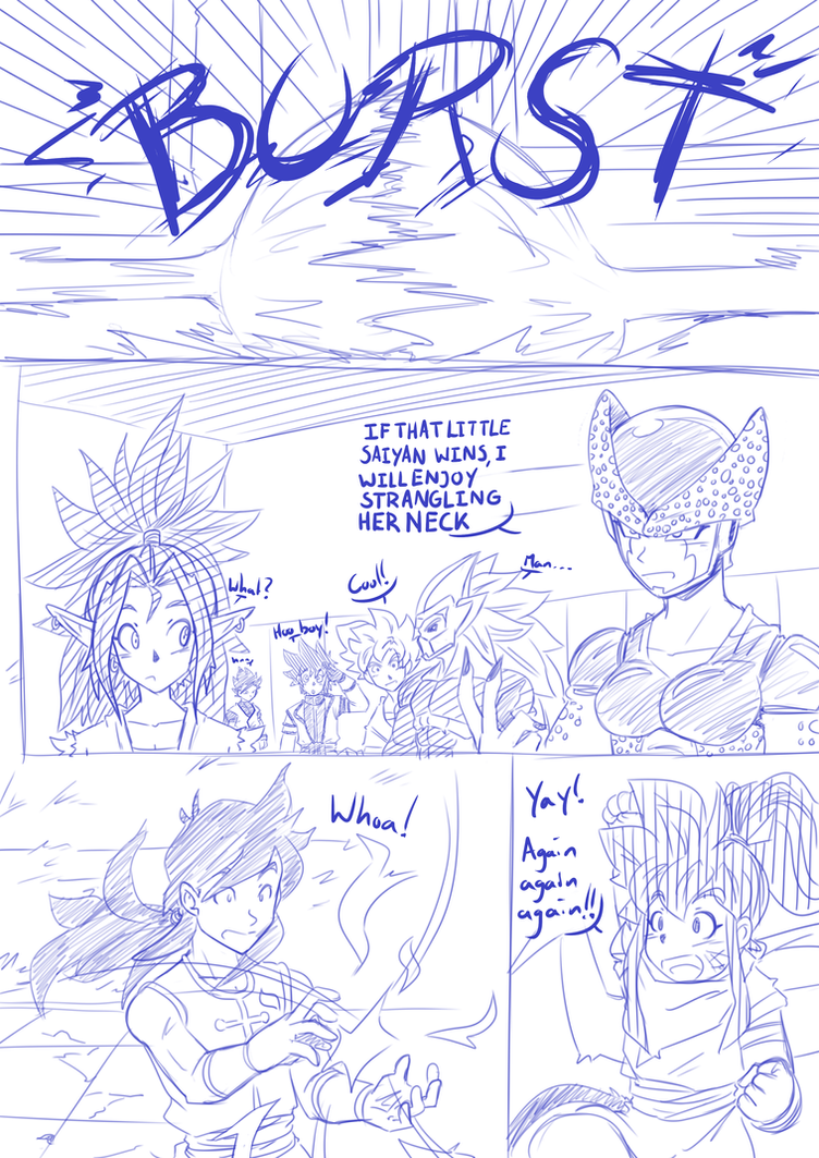 Tenkaichi Budokai - Taki vs Jiuniang Page 4 by RageVX