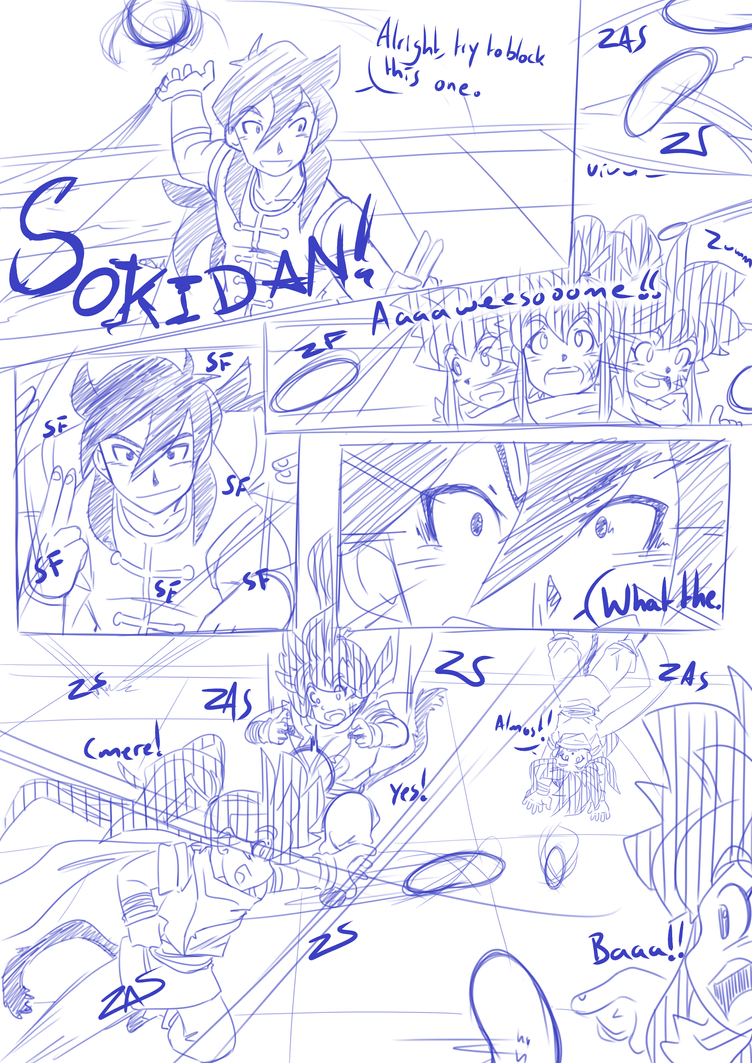 Tenkaichi Budokai - Taki vs Jiuniang Page 5 by RageVX