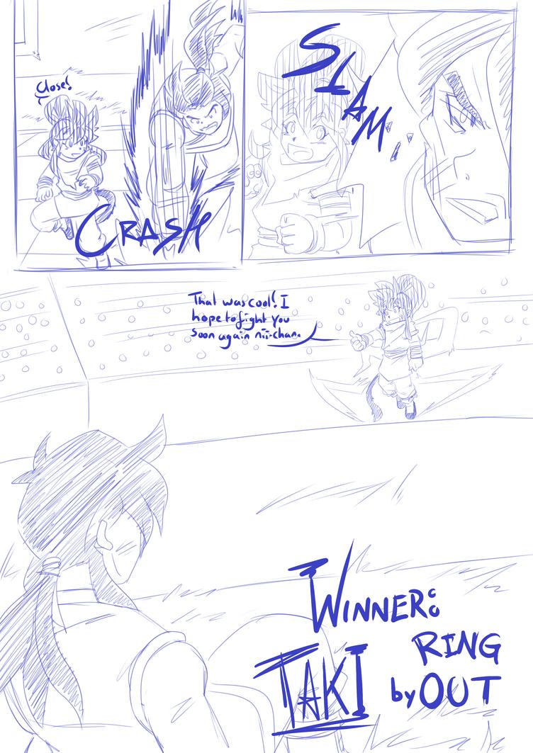 Tenkaichi Budokai - Taki vs Jiuniang Page 7 by RageVX
