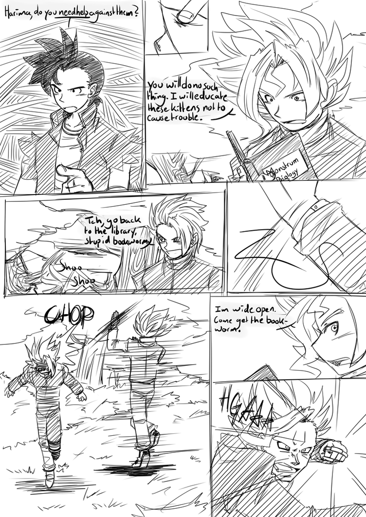 College Chaos Page 10 by RageVX