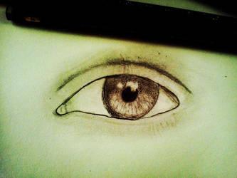 Eyelash-less eyeball