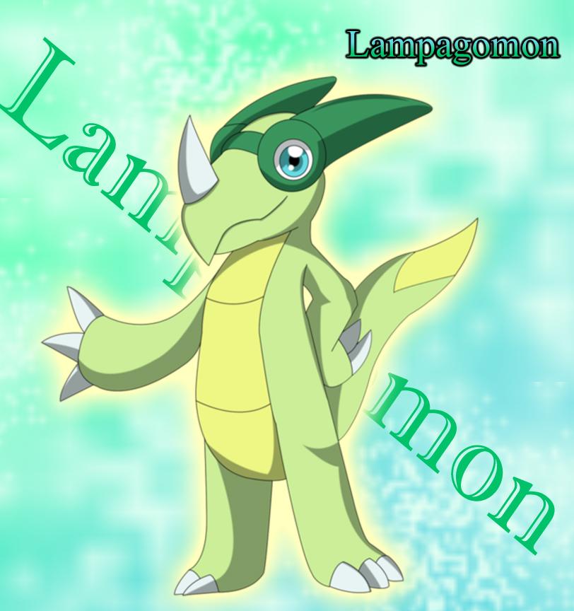 Lampagomon by FairyAurora
