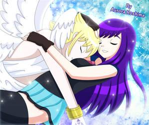 Lucemon and Majokko by FairyAurora