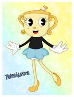Cuphead: Ms. Chalice by FairyAurora