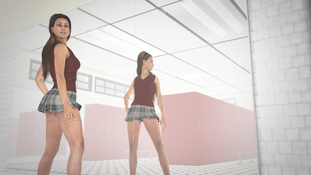 The locker room giantess vore fantasy fetish pov 5